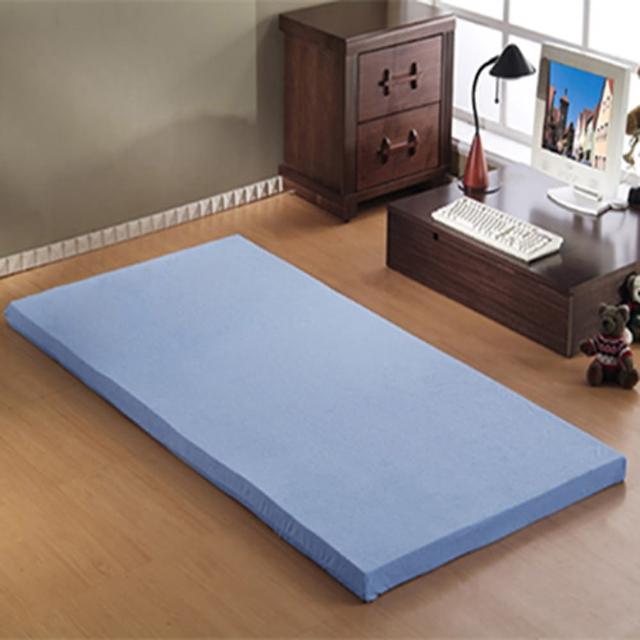 【班尼斯】8公分惰性記憶矽膠床墊-附3M吸濕排汗布套(全平面-3尺單人)