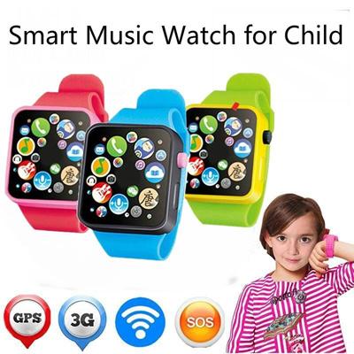 Smart Watch Creative Children Learning Multifunction Kids Toddler Wrist Touch Screen Toy Digital Wat