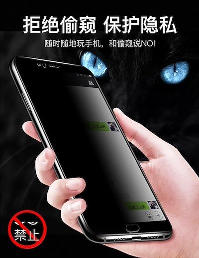 Oppo R17 R17 Pro R15 R15 Pro Privacy Tempered Glass  24832