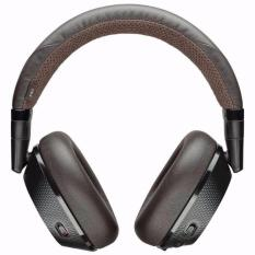 Plantronics Backbeat Pro 2 Black Tan Wireless Noise-Cancelling Headphones With Mic