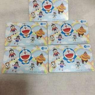 Doraemon Ezlink New card