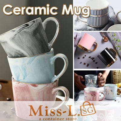 [BL]Mr and Mrs Ceramic Mug/mug/coffee mug/thermal pot/tiger thermal flask/thermal wear/cup/tumbler