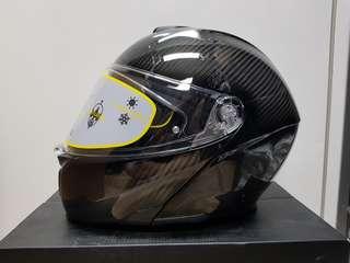 AGV Sportmodular Solid Gloss Carbon Helmet