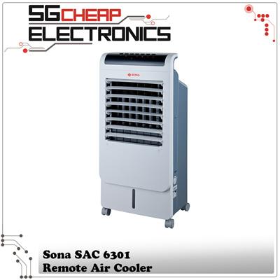 Sona Remote Air Cooler (SAC 6301) - Singapore Warranty