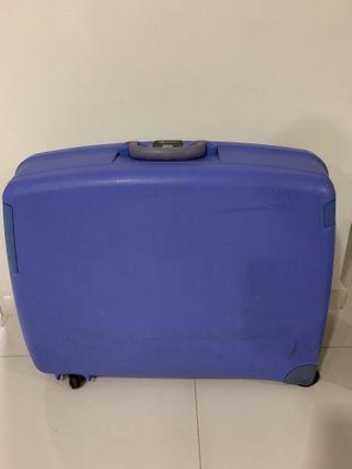 Delsey 2 wheeler luggage
