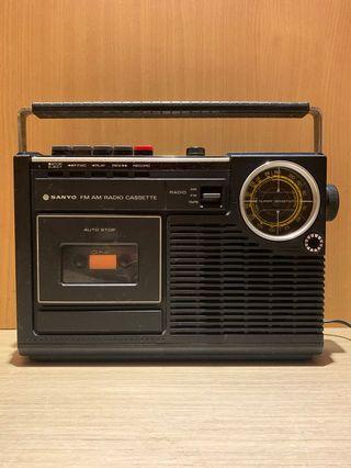 早期SANYO M 2402收音機 SANYO早期收音機 SANYO收音機 收音機