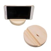 松木小置物架  木手機架  木製展示台  墊高木擺飾 (2入組)