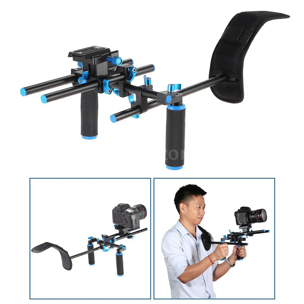 底價出清YLG0102H 單反攝影肩托架視頻拍攝穩定器