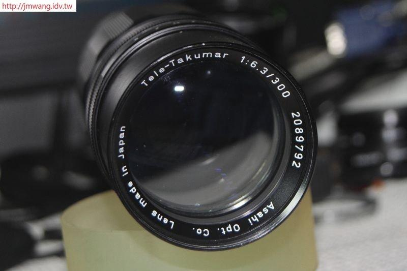 PENTAX 300mm F6.3 Asahi Tele-Takumar (M42接環) SN:2089792