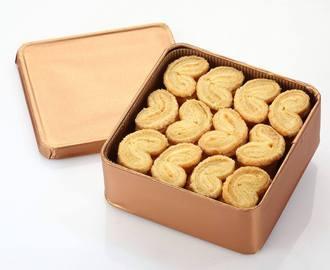 法式蝴蝶酥禮盒 手工餅乾 240g盒裝  2盒入▶全館滿499免運