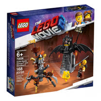 樂高積木 LEGO《 LT70836 》樂高玩電影系列 - Battle-Ready Batman™ and MetalBeard