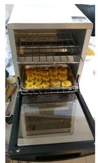 (Raya Sale!)Oven Toaster Double Layer 12L 1000W Toyomi Kitchen Baking Electronic Appliances Cooking  House Home Kuih