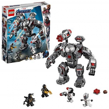 LEGO 樂高 Marvel Avengers War Machine Buster 76124 Building Kit (362 Piece)