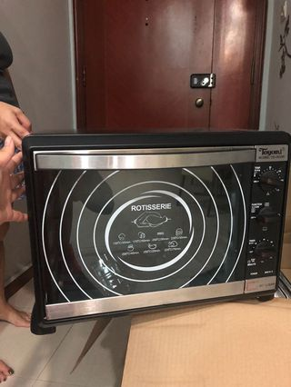 Toyomi Electric Oven with Full Accessories