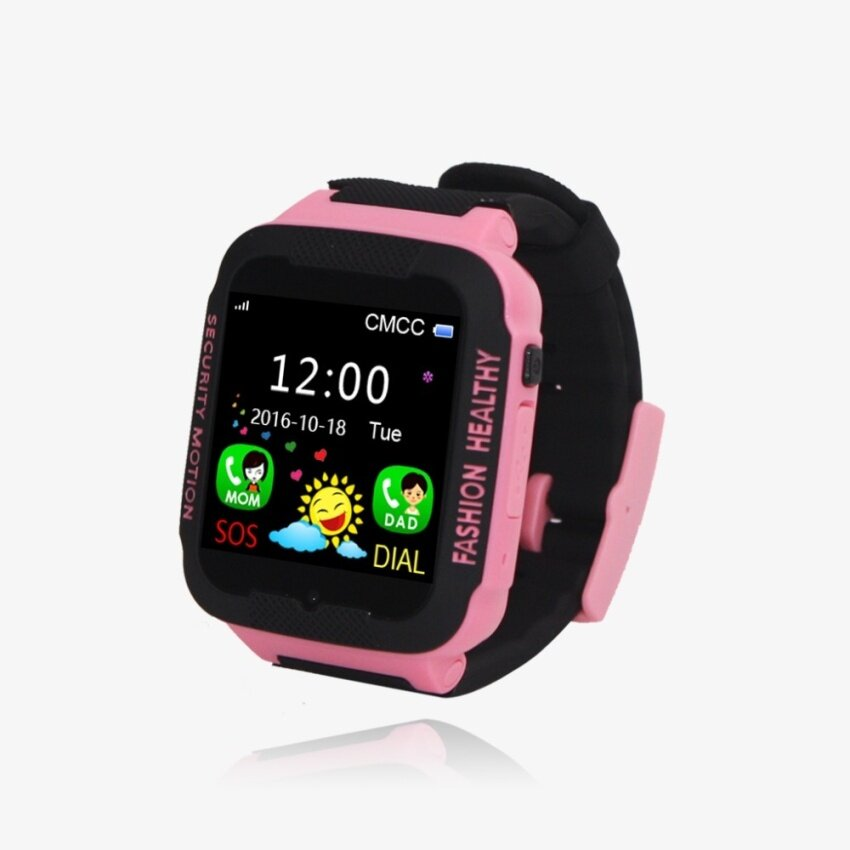 EVERPRO FREZEN Smart Watches for Kids Children LBS Watch for Apple Android Phone Smart Baby Watch Smartwatch Children Smart Electronics