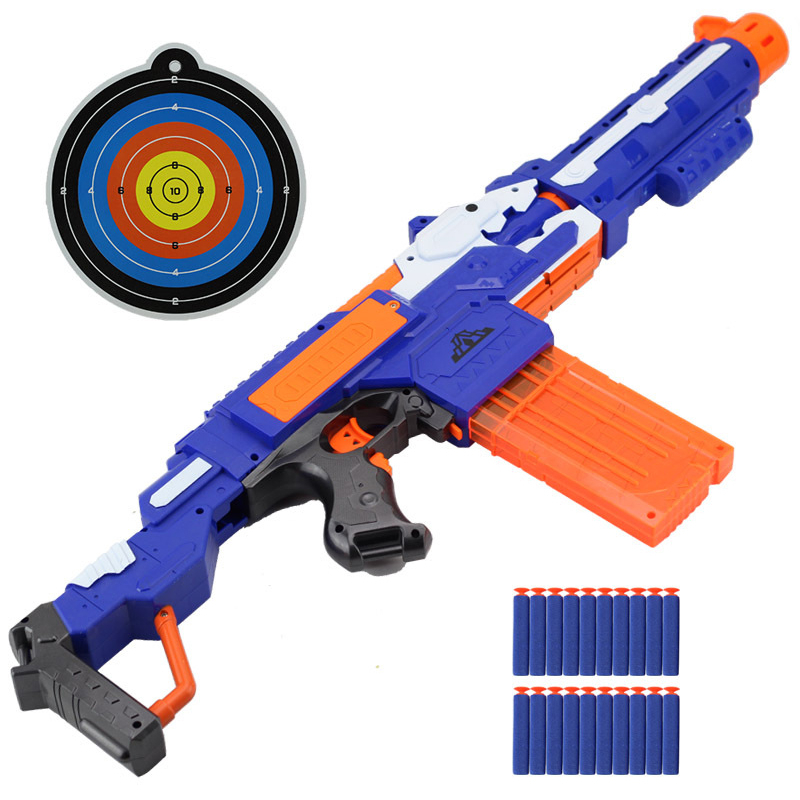 Fast Delivery and Free Shipping Soft Bullets Toy Gun Bullets Suit for Nerf Toy Gun Dart Perfect Suit for Nerf Gun Christmas Gift