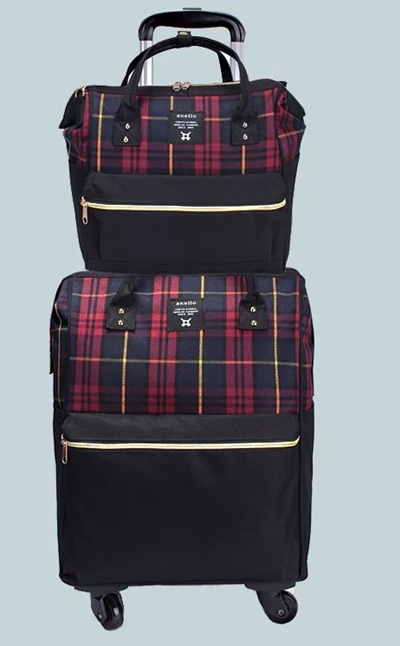 Anello Luggage Bag Trolley Luggage travel cabin Bag SG Seller Fast delivery