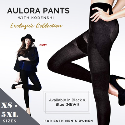 ❤AWESOME FREE GIFTS/NEW BLUE AVAILABLE❤AUTHENTIC AULORA PANTS WITH KODENSHI® ❤WOMEN/MEN/UNISEX PANTS