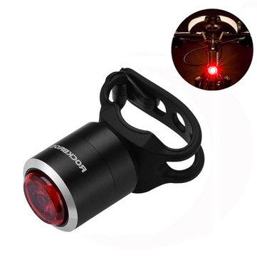 ROCKBROS W06 Smart Mini USB Rechargeable Bike Taillight IPX5 Waterproof 5 Lumens 29g