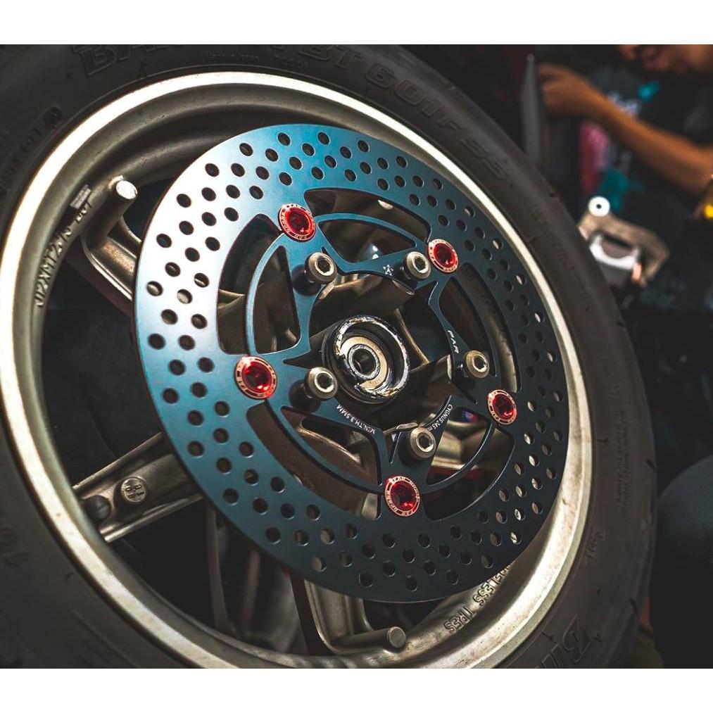 皮斯摩特 FAR SS 赤鬼 浮動碟盤 浮動碟 浮動 碟盤 白鐵 不鏽鋼 前+後 套裝 雷霆S 雷霆 150 125