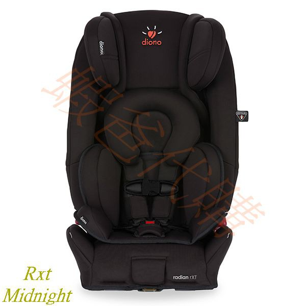【蝦爸代購】2018 Diono Radian RXT Midnight汽車安全座椅 汽座相容ISOFIX 美國含稅直寄