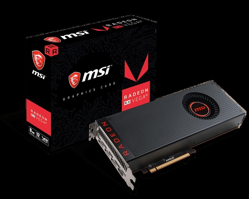 MSI 微星 Radeon RX Vega 56 AIR 8G DDR5