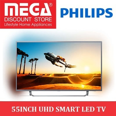 PHILIPS 55PUT7303 55INCH UHD SMART LED TV / ANDROID TV / LOCAL WARRANTY