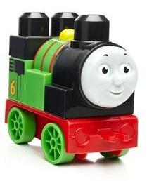 【紫貝殼加拿大 MEGA BLOKS 美高大積木湯瑪士小火車-綠 FEADXH47G