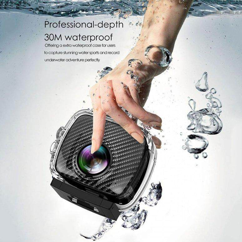 LIFEF Magicsee P3 360 Panoramic Camera Dual Lens Waterproof Case Pro 16MP VR Camera