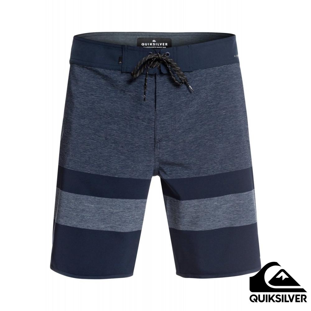 【Quiksilver】HIGHLINE TIJUANA 18吋衝浪褲 藍