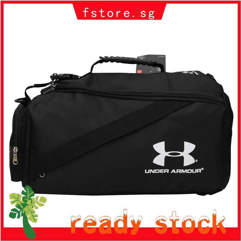 c97253c1454 Under Armour Duffle Bag Travel Gym Bag Handbag Compartment Shoes Storage UA