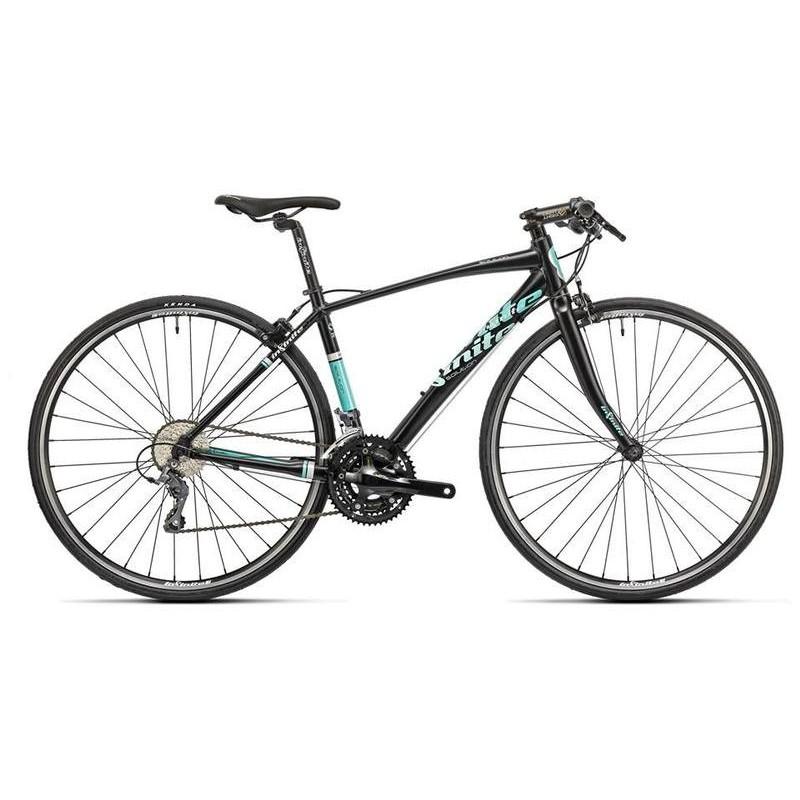 จักรยานไฮบริด INFINITE SOLUTION MEN 2015 SIZE:S(44)INF-SOLU-MEN-2015-44-BLKBLU ดำ-น้ำเงิน