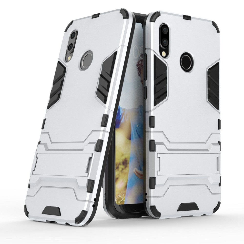 For Huawei P20 Lite Nova 3e 2in1 Dual Layers Shockproof Hybrid Protective Case