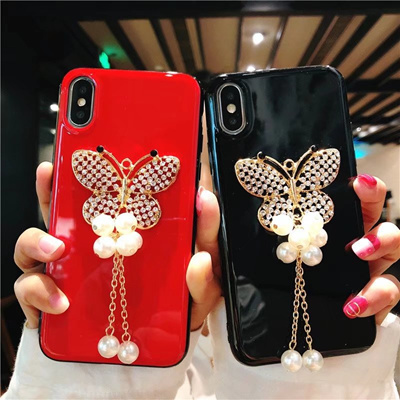 OPPO R11S/R11S Plus、R11/R11 Plus Bright butterfly protection case cover