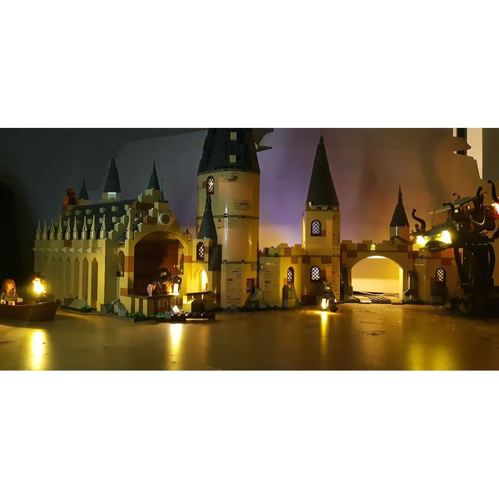 [想樂]『LED燈組(不含盒組)』樂高燈組 Lego Light 75953 75954 哈利波特霍格華茲大廳(無現貨)