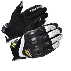 RS-TAICHI RST418 Gloves Cycling Gloves Motorcycle Gloves White
