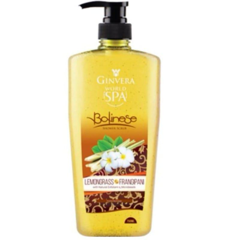Ginvera Spa Body Shower Scrub Lemongrass 750Ml