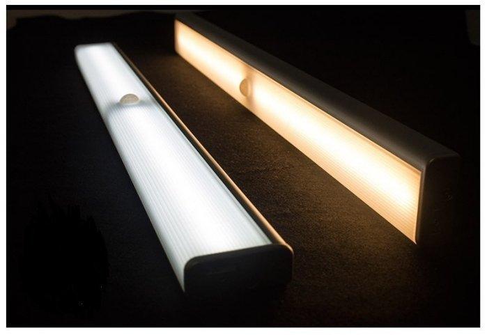 充電式LED 智能光控 人體感應燈 衣櫃燈 人體感應燈 衣櫃燈 閱讀燈 檯燈 小夜燈 長條燈 感應燈