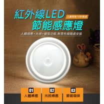 (二入組) 磁吸LED紅外線人體節能感應燈 超亮5LED燈珠 小夜燈 衣櫃燈 車廂燈  感應燈