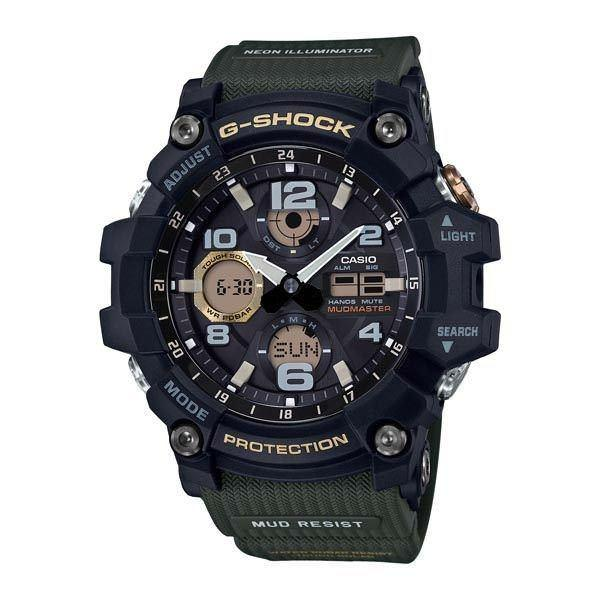 Casio G-SHOCK MASTER OF G MUDMASTER Watch GSG-100-1A3