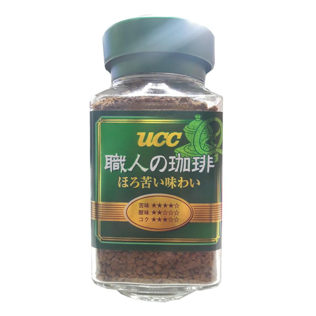 UCC 職人咖啡 香濃綜合即溶咖啡(微苦味) 90g/瓶