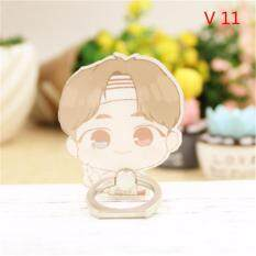 BTS Bangtan Boys V Case 360 Degree Rotation Phone Ring Finger Buckle Stand Holder Cell Mobile Phone Stand Accessories Rings ZHK