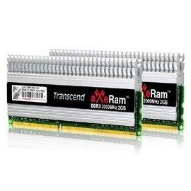 Transcend 創見 TX2000KLU-4GK 4GB KIT aXeRam DDR3 2000+ U-DIMM CL9 DDR3 240Pin Long-DIMM DDR3-2000+ 超頻記憶體模組