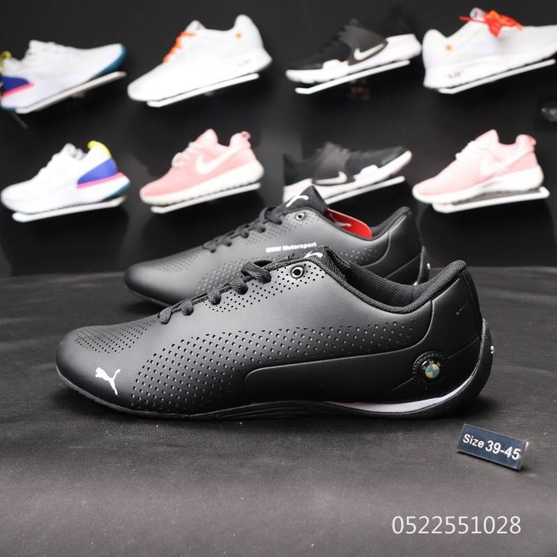 Puma BMW Racing shoes leather Sports training shoes Casual Shoes brown