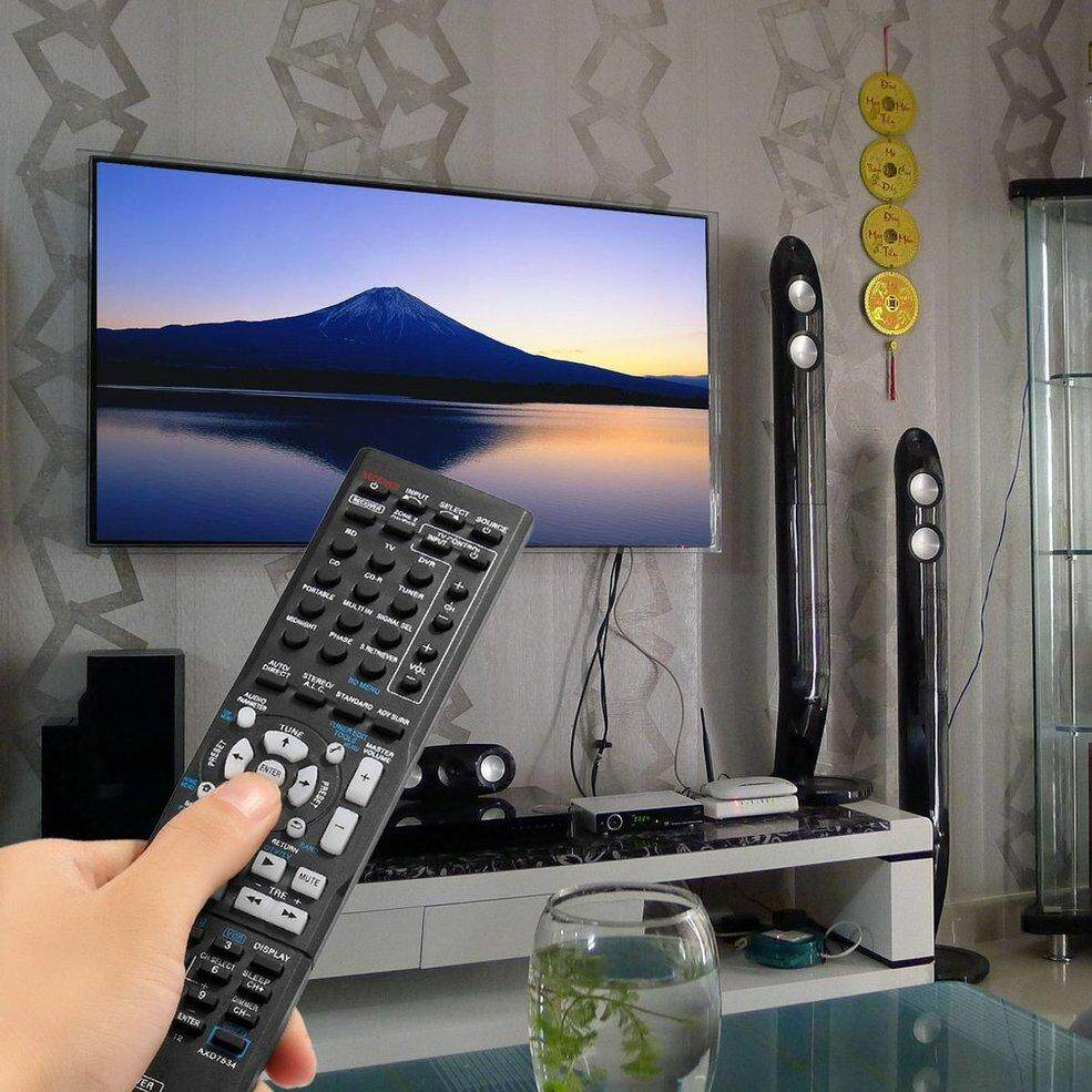 QNSTAR Power Amplifier Remote Control For Pioneer AXD7534 Audio Video AV Receiver black