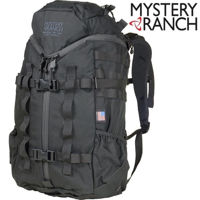 Mystery Ranch 神秘農場軍規背包/突擊背包/生存戰術包 3Day Assault CL 30L 61160 黑色 美國製