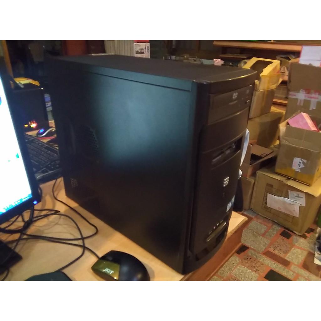 電腦主機 Intel Q9550 四核心 遊戲娛樂  DDR2 4G 500G硬碟 附送DVD光碟燒錄機(自取折扣200