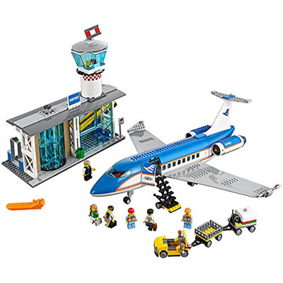 ▶$1 Shop Coupon◀  L.E.G.O City Airport Passenger Terminal 60104 Creative Play Building Toy