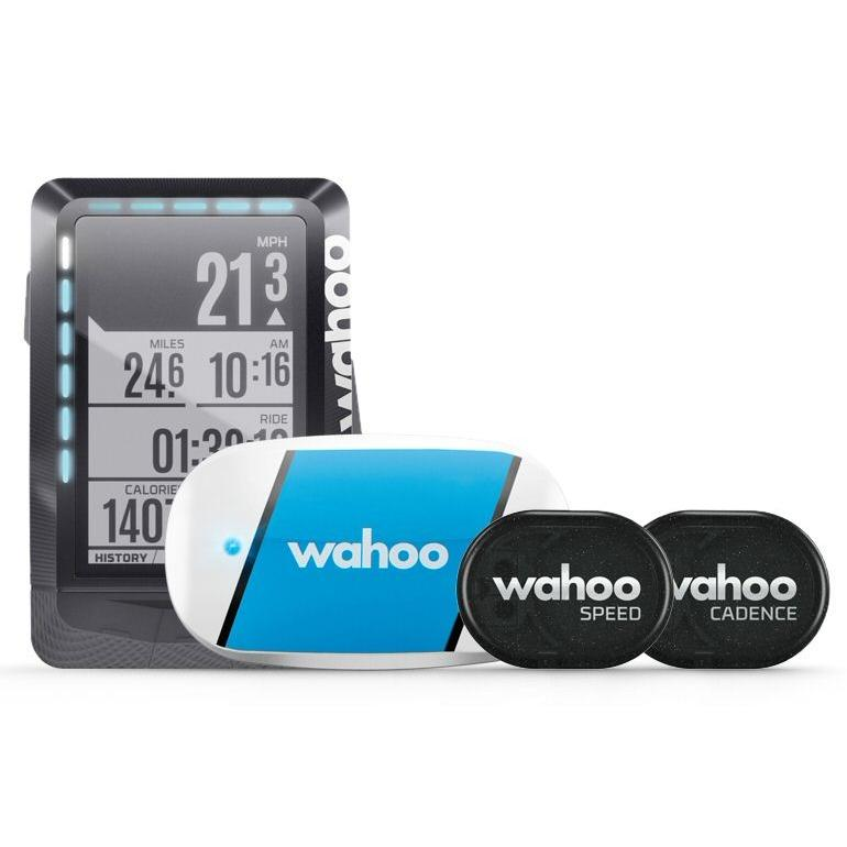 Wahoo Elemnt GPS Bicycle Computer Speedometer Bundle