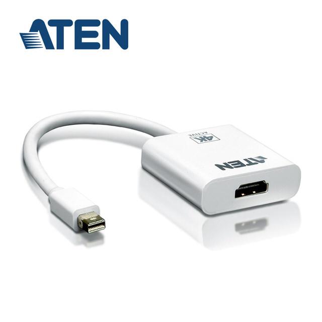 【ATEN】4K Mini DisplayPort 轉HDMI主動式轉接器(VC981)